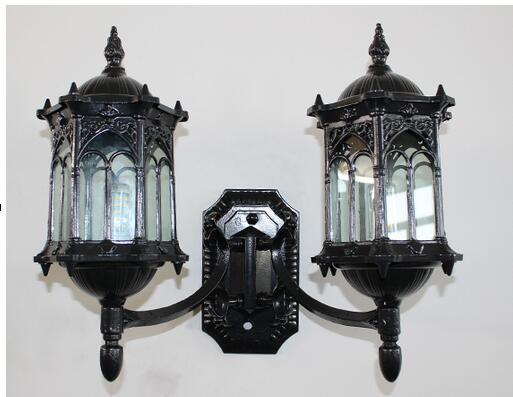 Applique per esterno a parete con lampade da parete per esterno