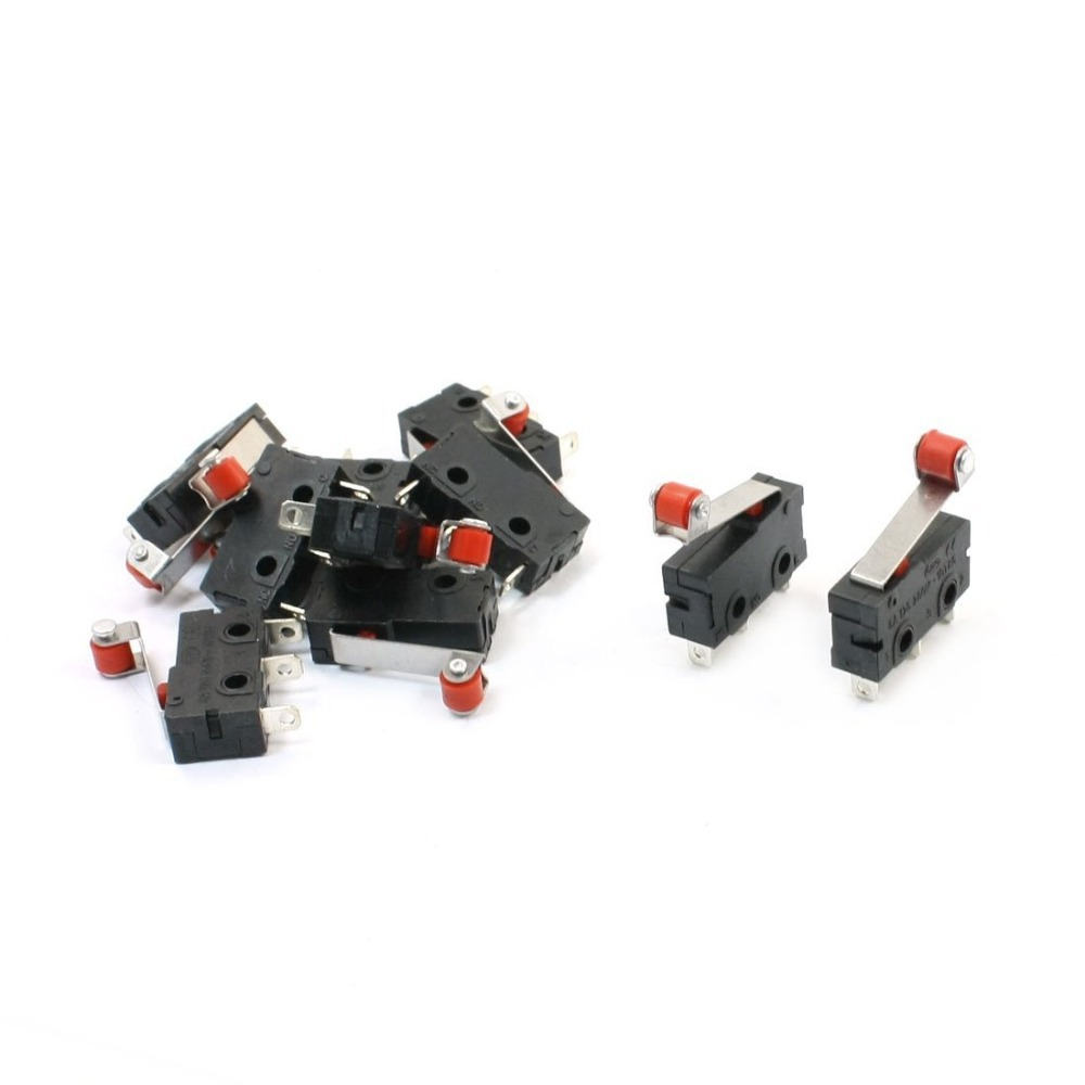 Good Buy Kw12 N 10 X Micro Limit Switch Roller Lever Subminiature With Spdt Snap Action Lot