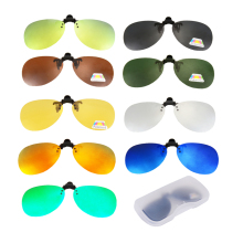 Polarized Fishing Glasses Clip on Sunglasses Frame Myopia Driving Men Women