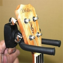 Hot 1 Pcs Guitar Stand Hanger Hook Holder Wall Mount Stand Rack Bracket Display Bass Ukulele Guitar Stand String Accessories