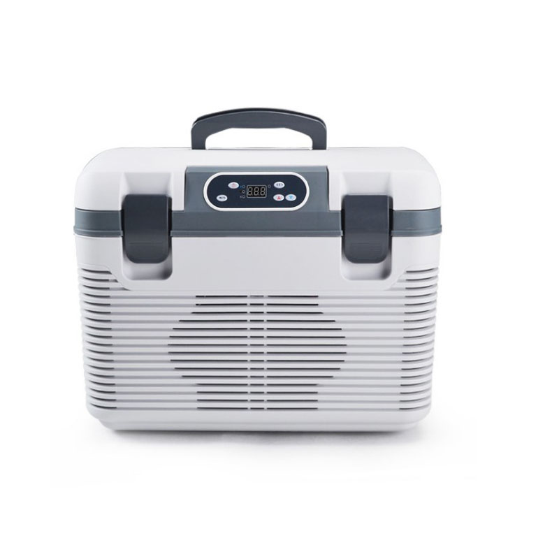 19L Auto Refrigerator Freeze Heating DC12-24V/AC220V Fridge Compressor For Auto Home TransporRefrigeration Heating -5~65 Degrees
