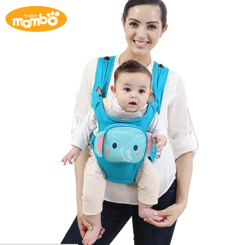 ФОТО Mambobaby 2017 Baby Carriers 3-36 MonthsInfant Backpack & Carriers Kid Carriage Baby Wrap Sling Child Care Product Baby Carrier
