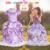 2016 Princesa Sofia Traje Para Festa de Natal Do Bebê Vestido Da Menina Princesa Sophia Sofia As Primeiras Roupas Infantil Meninas Sofia