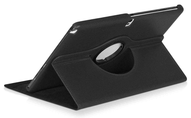 Funda untuk Samsung GALAXY Catatan 2014 Edition 10.1 P605 P600 P601 Cover Tab Pro T520 T525 360 Rotating Folio Stand PU Kulit Kasus