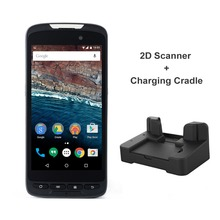 RUGLINE Latest Design 4000mAh Battery Capacity Android Barcode Scanner Handheld Terminal PDA