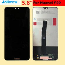 For Huawei P20 LCD Display +Touch Screen Digitizer Assembly Replacement for Huawei EML-L09 EML-L22 EML-L29 EML-AL00 LCD Screen все цены