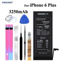 Original NOHON Battery for Apple iPhone 6 Plus 6Plus 6P 3250mAh Replacement High Capacity Phone Bateria + Free Tools Kit sticker