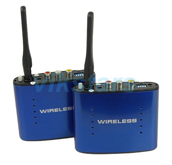 REDAMIGO Hot sale New 5.8 GHz Wireless AV Audio Video Transmitter Receiver 200M AV Sender Audio Receiver PAT630R 800mw video transmitter av audio