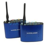REDAMIGO Hot sale New 5.8 GHz Wireless AV Audio Video Transmitter Receiver 200M AV Sender Audio Receiver RTE630 1