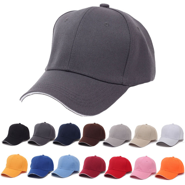 fcefa68e28c fashion casual candy colors baseball cap drake hat for women men female  boys youth summer sport Solid baseball golf cap hat new