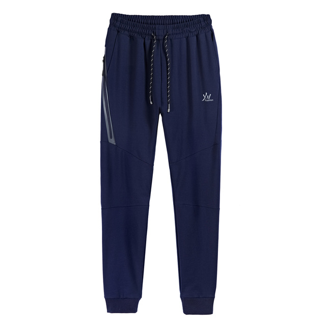 Spring Autumn male Comfortable and soft Outdoor sport pants Breathable Elastic mens plus size running Hiking Trousers L- 8XL