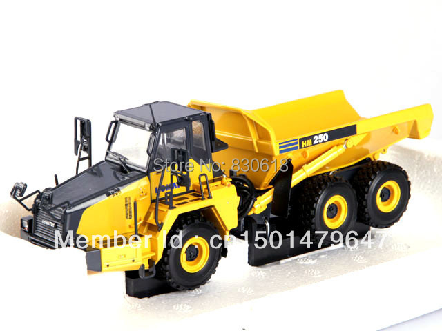 1/50 UH8035 Komatsu HM250 HM 250 Articulated Dump Truck Construction vehicles toy куплю запчастей б у к komatsu