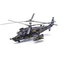 Easy Model Rosyjski Air Force KA-50 #318 Wilkołak Blackshark Helikopter Modele 1/72 Skala Diecast Gotowy Model Zabawka Dla Zbierania
