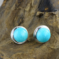 925 Sterling Silver Natural Amazonite Earrings For Women Gift