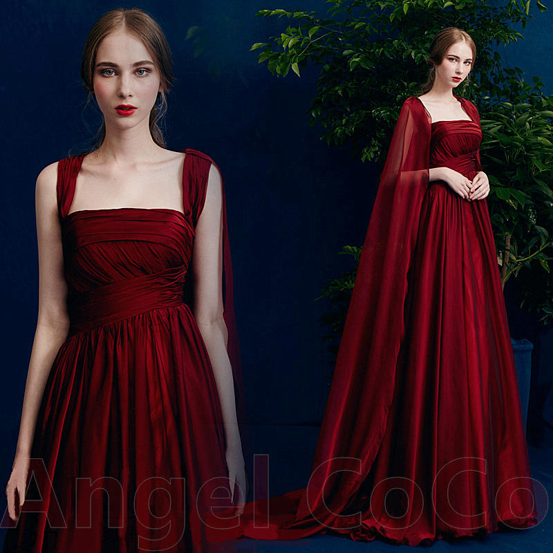 robe de soiree 2017 wine red sexy long evening dresses. Black Bedroom Furniture Sets. Home Design Ideas