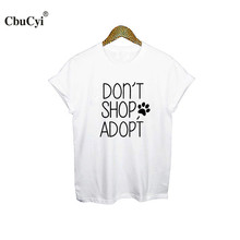 Don't Shop Adopt women shirt