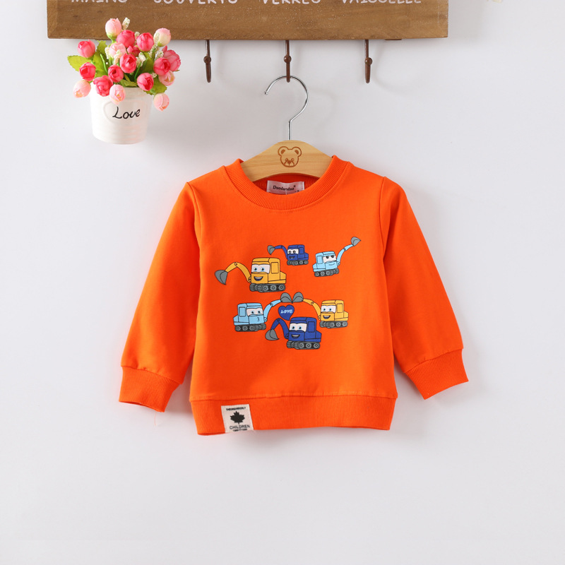 IENENS Kids Baby Boys Clothes Clothing Hoodies Toddler Infant Boy Long Sleeves T-shirt Hoodied Cotton T Shirt