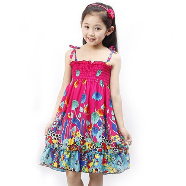 Aliexpress.com : Buy 2017 summer girls dresses Fashion princess ...