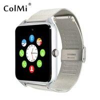 Смарт-часы GT08 плюс тактовую синхронизацию уведомлений Поддержка sim-карты Bluetooth Подключение телефона Android SmartWatch сплав SmartWatch
