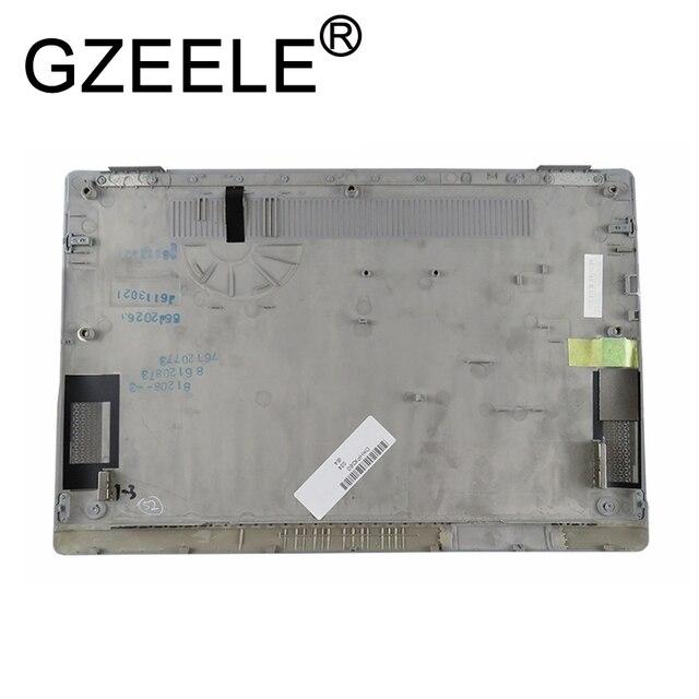GZEELE nouveau pour HP Elitebook X360 1030 G2 couverture inférieure pour ordinateur portable 917895-001 argent housse de Base inférieure pour ordinateur portable coque D