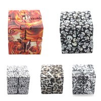 Fingertips Cube Decompression Toys Luxury EDC Infinity Cube Mini For Stress Relief Fidget Anti Anxiety Stress Funny