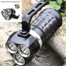 Sofirn SD01 Профессиональный Дайвинг флэш светильник Cree XPL 3000LM светодиодный светильник подводный поиск светильник 18650 мощный светодиодный светильник