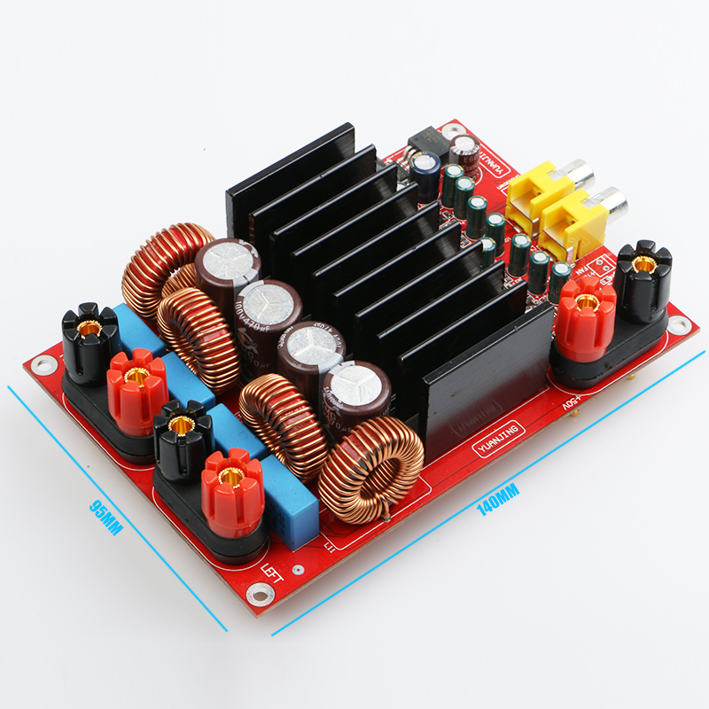 YJHIFI TAS5630 OPA1632DR AUDIO high power digital amplifier board Class D 2 * 300W DC50V HIFI DIY (Deluxe Edition) new the wind tas5630 2 1 home audio power amplifier 150wx2 300wx1 g3 006