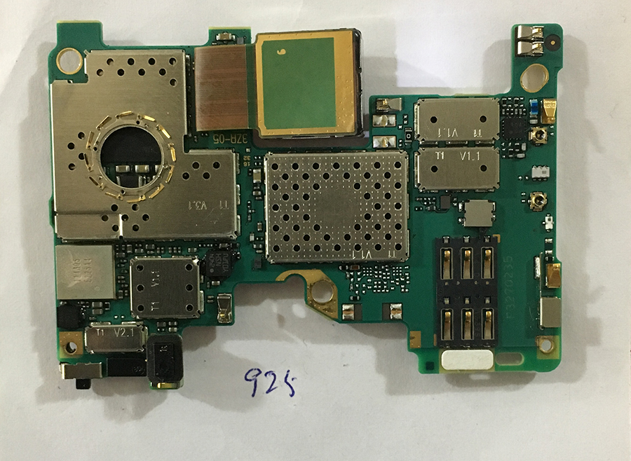 Original Unlocked Working For Nokia Lumia 925 Motherboard  Test 100%  Free Shipping