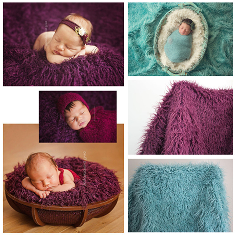 Newborn Photography Props Basket 2017 Fashion Baby Blanket Solid Photo Props Backdrop Background Newborn Photography Props crochet baby blanket newborn photography props chunky knit blanket basket filler background photography studio accessories