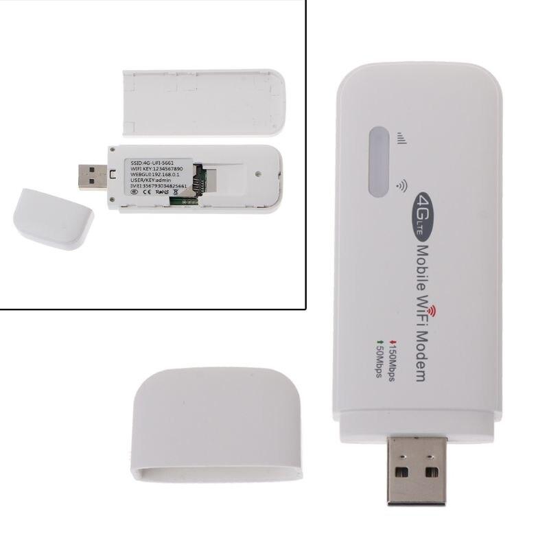 Routeur Wifi 4G LTE FDD 150 Mbps Modem Wifi Hotspot Mobile débloqué routeur 3G 4G