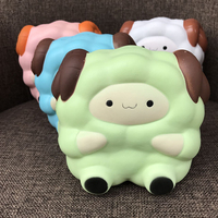 13 5CM Cute Colossal Squishy Sheep Slow Rising Stress Relief Squeeze Toy