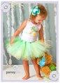Pequena Sereia Saia Tutu Bebê Tutu Outfits Criança Easter Tutu Menina Saia Do Bebê Saia Tutu da Festa de Aniversário para o Traje Da Sereia