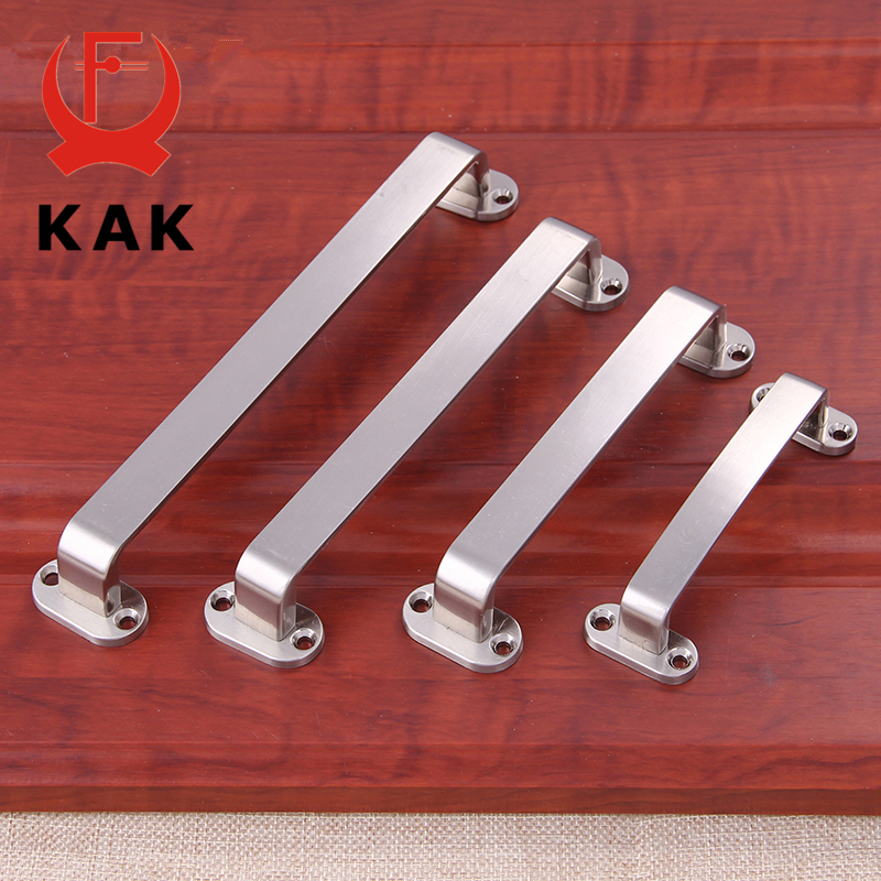 KAK Classical Cabinet Door Handles Zinc Alloy Drawer Wardrobe Pull Handles Knobs 96mm 128mm Hole Distance  Furniture Handles furniture drawer handles wardrobe door handle and knobs cabinet kitchen hardware pull gold silver long hole spacing c c 96 224mm