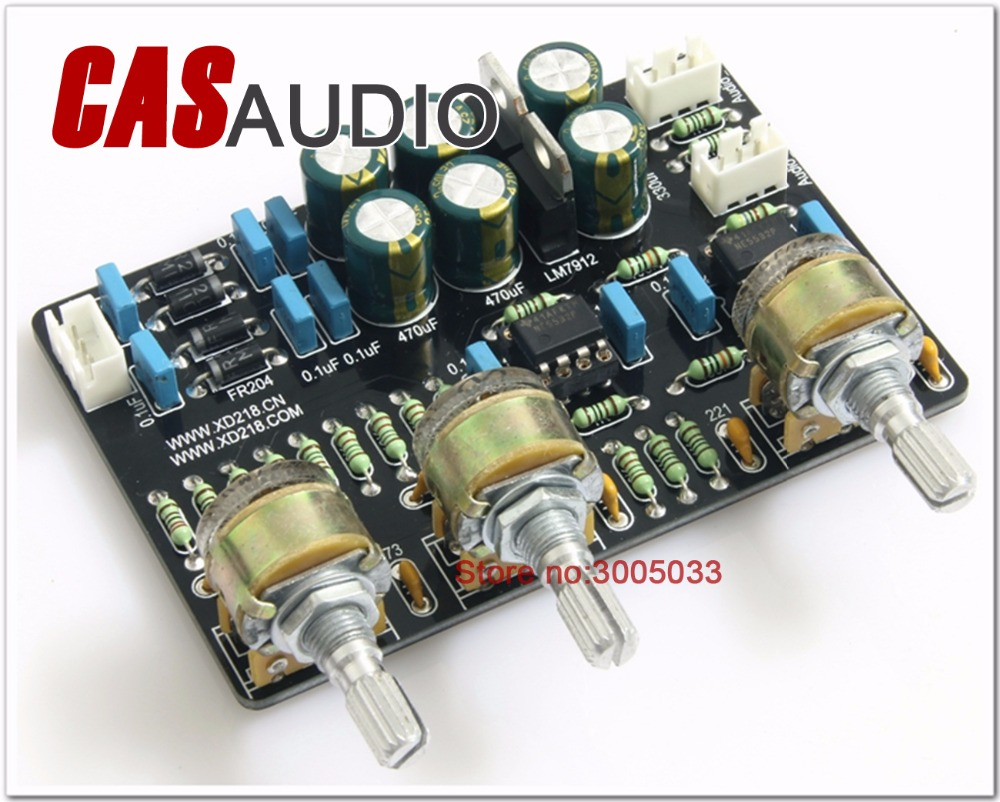 Assembled Bass And Treble Adjustment Preamp Board Negative Feedback Lm7812 Lm7912 Circuit Tone In Amplifier From Consumer Electronics On Alibaba Group