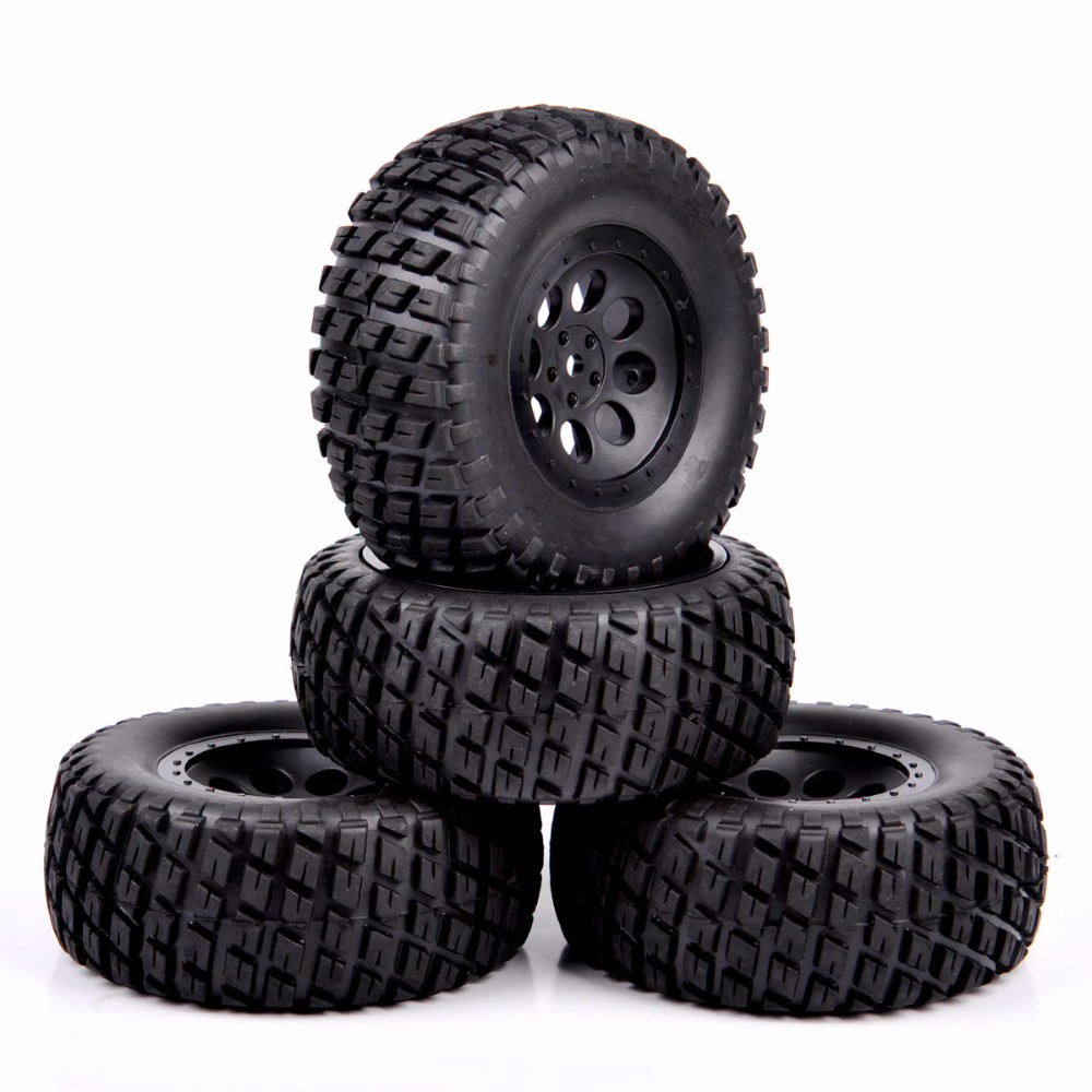 1 10 scale RC short course truck tire wheel for RC 1 10 short course truck model accessory parts in Parts Accessories from Toys Hobbies