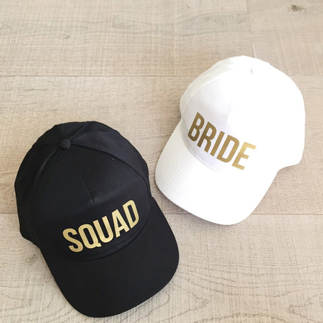 Bride Team Baseball Cap