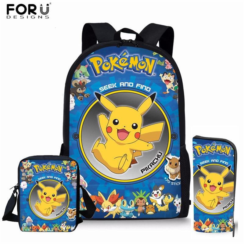 Sprayground Detective Pikachu Shark Black Backpack Pokemon