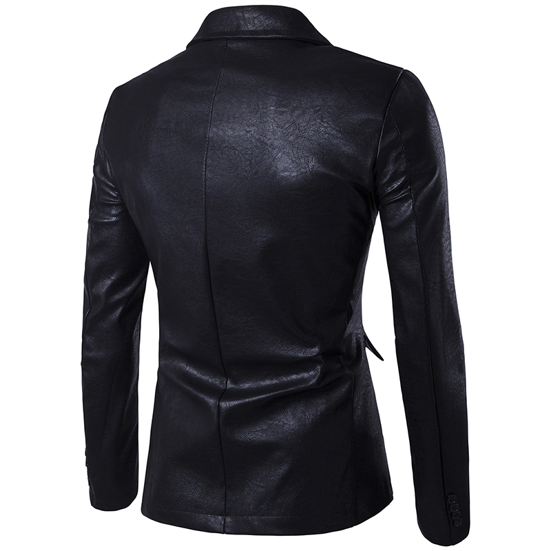 Printemps Loisirs Taille Moto De white Hommes 2018 2xl Et En Couleur Unie Grand Black S khaki Mode Veste red Nouveau Mince Cuir Automne rCdxthQBs