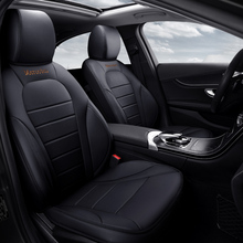custom  leather car seat covers  car styling Car accessories for  Mercedes-Benz C-class Volkswagen vw passat b5 polo 4 Golf цена в Москве и Питере