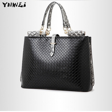 The new 2016 female bag The European and American fashion brand classic font b handbag b