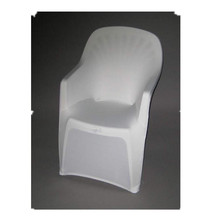 Lycra Arm Chair Cover White 30 pcs Free Shipping