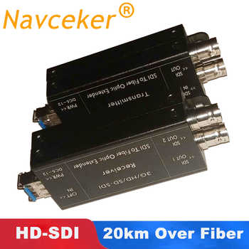 ProAV 1080i HD SDI Fiber Optical Converters With Dual SDI Output  1080@30Hz HD-SDI Fibra Optic To BNC Coaxial Converter 20km - DISCOUNT ITEM  52% OFF All Category
