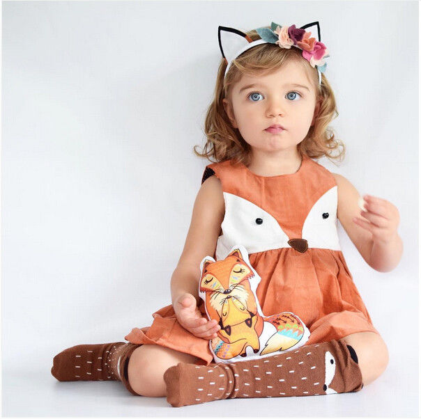 New-Baby-Girls-Kids-Clothing-Dresses-Princess-Sleeveless-Cartoon-Cute-Animals-Party-Tutu-Short-Casual-Girl-Dress-2