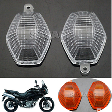 Фотография For SUZUKI DL650 DL1000 DL 650/1000 V-Strom GSX 650F/1250FA Motorcycle Accessories Turning signal Blinker Light Lens Clear