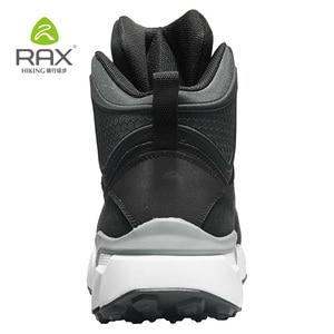 Image 5 - Rax 2018 invierno más nuevos zapatos de senderismo hombres deportes al aire libre Snearker para hombres botas de montaña antideslizantes calientes botas de nieve impermeable 470