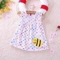 Bebé de 1 Año Niña de Cumpleaños Vestido de la Princesa del Algodón Ropa Niños Tutu Vestidos de Fiesta de Verano Ropa de Recién Nacido Ropa de Niños