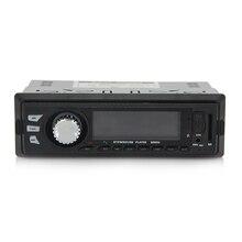 Bluetooth Car Audio Estéreo En el Tablero de FM Receptor USB SD de Entrada Aux mp3 reproductor de radio para el ipod iphone ipad soporte usb sd mmc