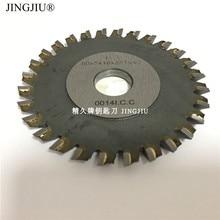 Frees 28 tanden Ijzer 80X5X16mm blade voor JINGJI mini P1 P2 platte sleutel cut machine pinion