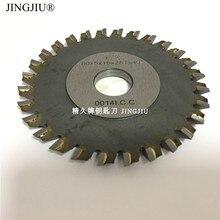 Fresa 28 denti di Ferro 80X5X16 millimetri lama per JINGJI mini P1 P2 piatto taglio chiave macchina pignone