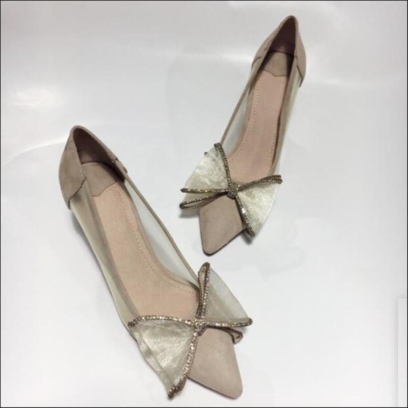 as Bowtie Zapatos As Tacones Real Pics Malla Partido Bombas Cristal Gamuza Show Punta Altos Y Cuero Mujeres De Novia Mujer Estrecha Show OqRExwq7U